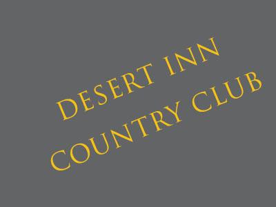 Desert inn country club