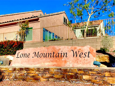 Lone Mountain-West