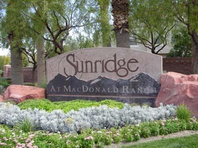 Sunridge at Mac Donals RAnch