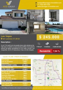 MVB - Page Rentabilité - 631 Landview CT